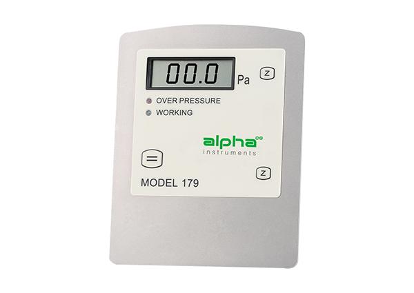 pressure differential monitor