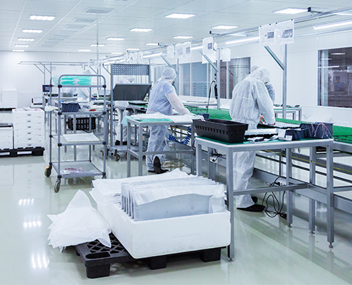 cleanroom environmental monitoring